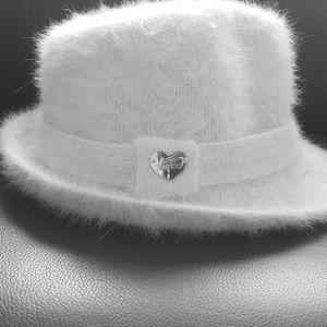 Angora blend hat.